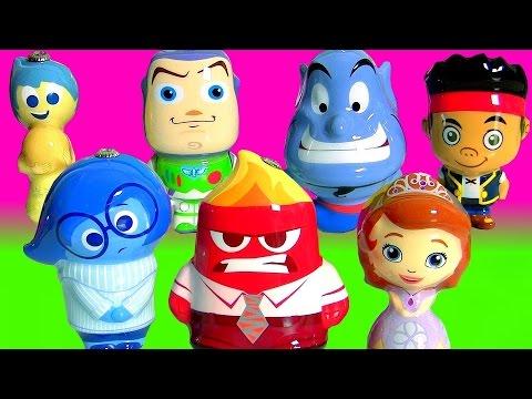 Disney Pixar Inside Out Christmas Ornaments Joy Sadness Sofia ...