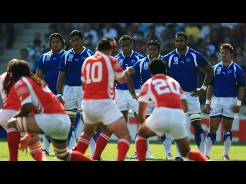 Samoa v Tonga's brilliant 2007 RWC faceoff!