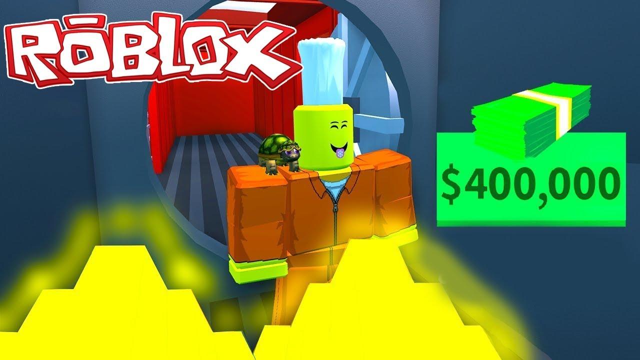 TREN SOYGUNU NASIL YAPILIR? (400,000$) - ROBLOX!