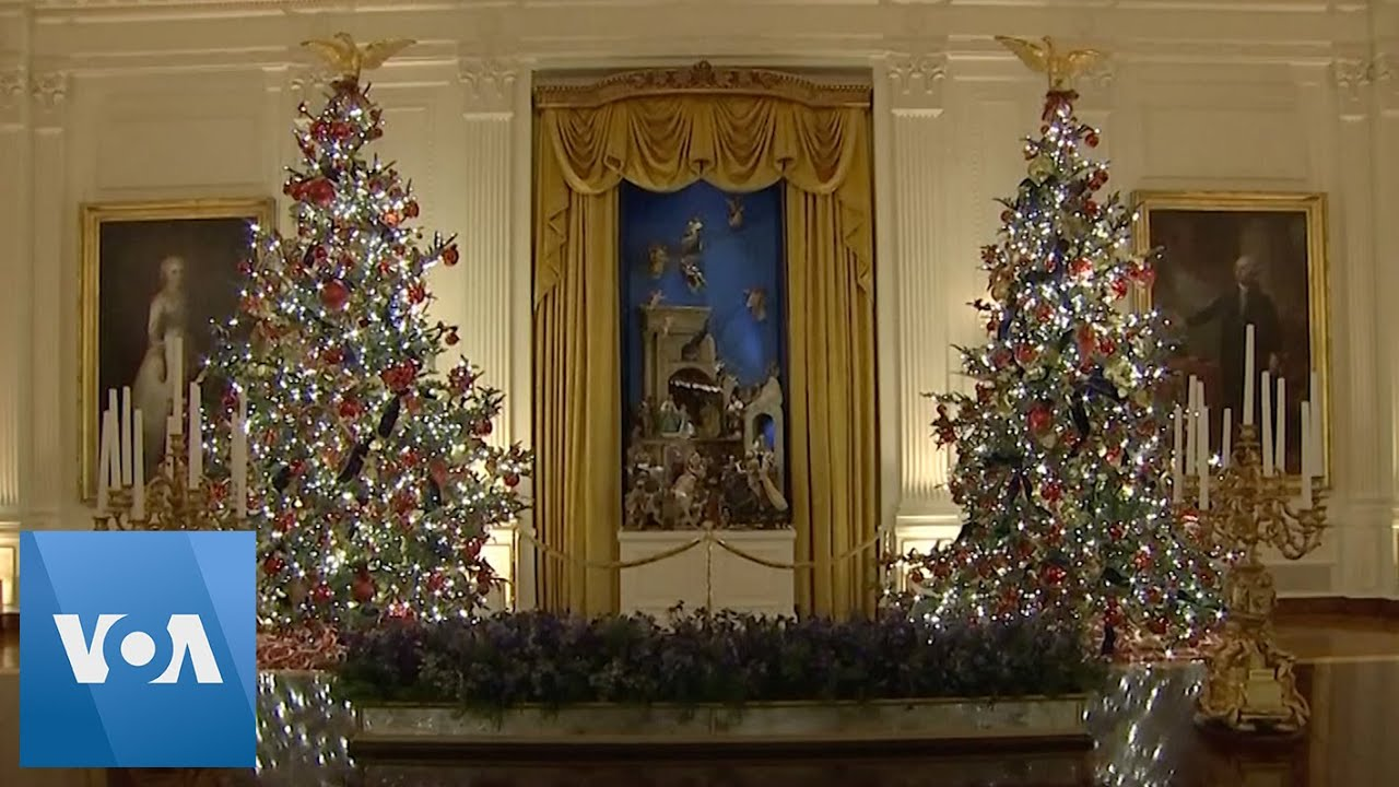 White House Unveils 2019 Christmas Decorations