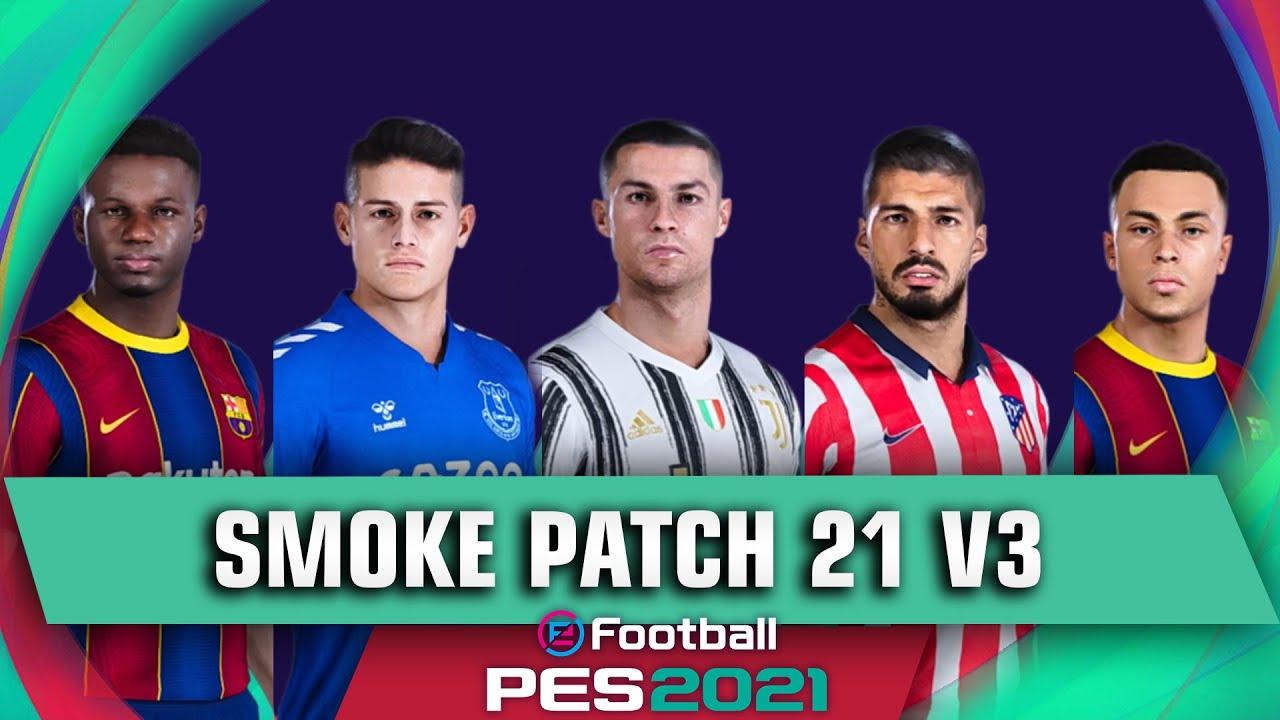 SmokePatch je patchem, který přidává do hry eFootball PES 21 mnoho zajímavých prvků.