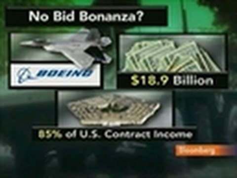 Boeing, Lockheed Win Contracts Without Competition