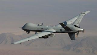 """بالفيديو.. مقتل 4 عناصر من تنظيم """"القاعدة"""" في غارة لطائرة بدون طيار"""