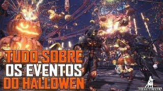 Monster Hunter World - TUDO SOBRE OS PRINCIPAIS EVENTOS DO FESTIVAL DE HALLOWEEN!