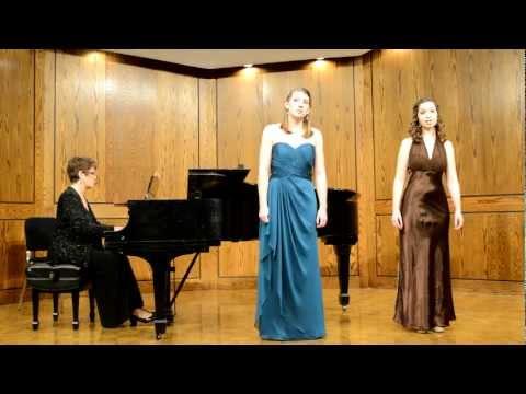 Annie Barrett & Sarah Welden, Mezzo-Soprano & Soprano, Flower Duet, Lakme
