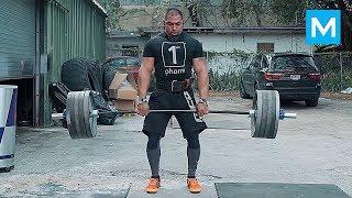 Strongest Workout Monster - Tony Sentmanat | Muscle Madness