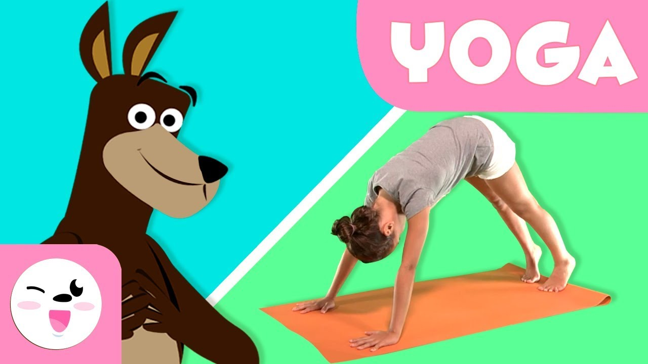 Yoga Para Ninos La Postura Del Perro Tutorial Para Practicar Yoga Youtube