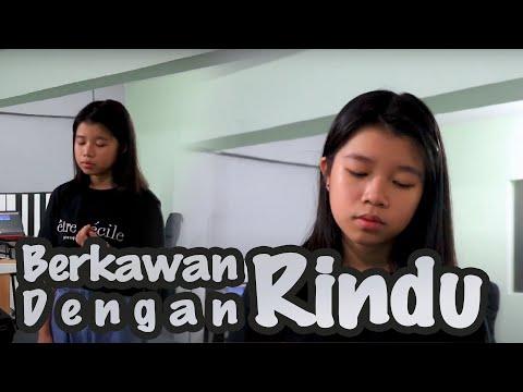 Download Berkawan Dengan Rindu - Hanin Dhiya  cover  by Carissa Mp4 baru