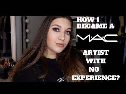 HOW I BECAME A MAC COSMETICS ARTIST WITH NO EXPERIENCE!??! | SOPHIE NOA