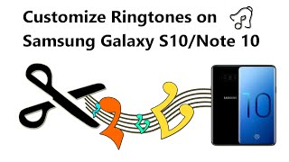 Easy to custom samsung galaxy s10 / s10+ ringtones. you can set cool ringtones, assign a personal contact ringtone, and text notification sound on your p...