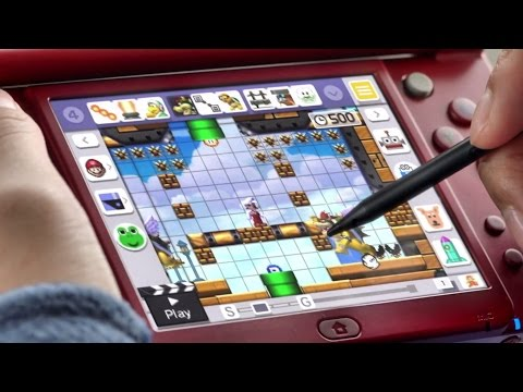 Super Mario Maker Official Play Everywhere, Create Anywhere Trailer