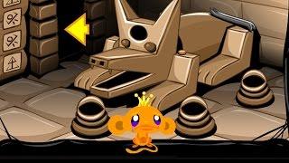 Счастливая обезьянка: Побег из египетских пирамид (Monkey GO Happy: Pyramid Escape) // Трейлер