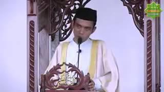 Khutbah menggetarkan dan heroik Ust  Abdul Somad, Lc MA