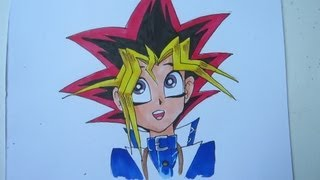 How to draw Yugi