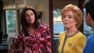 Two and a Half Men - Evelyn Meets Chelsea [HD]