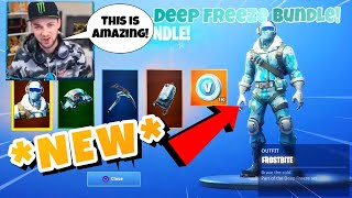 ALIA REACTS TO *NEW* DEEP FREEZE BUNDLE | FORTNITE BATTLE ROYALE | Fortnite Engine |