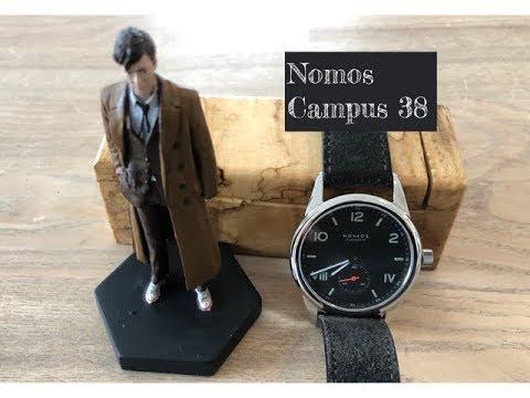 Nomos Campus 38 Night - Full review