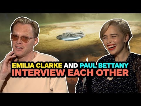 Emilia Clarke and Paul Bettany Interview Each Other