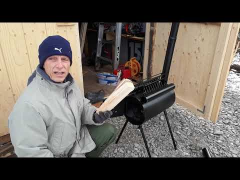 Shed Upgrade 2: Installing a Small Wood Stove