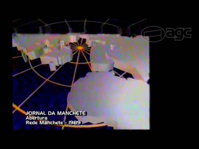Abertura Jornal da Manchete 2a. Ed. - 1989