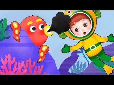 Toy Kids Marine Baby Doli play under the sea and baby doll toys play