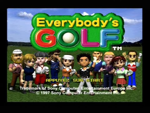 "[Ps1] Introduction du jeu ""Everybody Golf"" de l'editeur Camelot software (1998)"