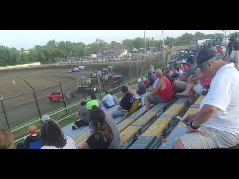 Creek County Speedway USRA Modifieds heat 3 7/21/19