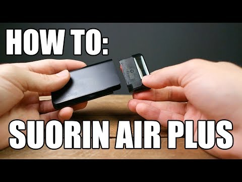How To: Fill and Prime The Suorin Air Plus Pod Vape | Vaporleaf