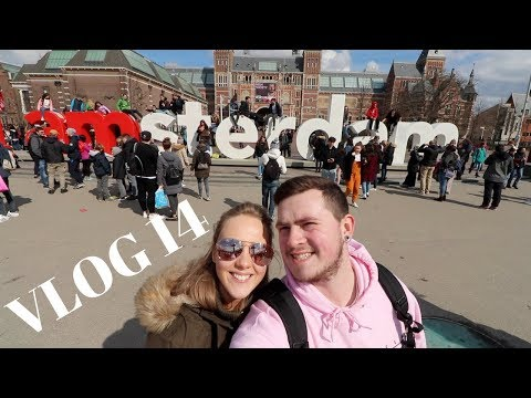 GETTING *HIGH* IN AMSTERDAM (VLOG 14)