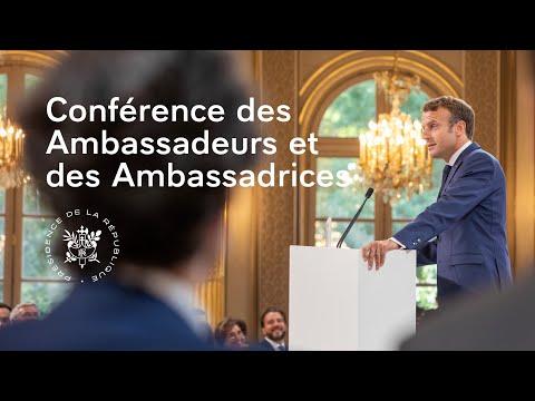 Discours à la Conférence des Ambassadeurs