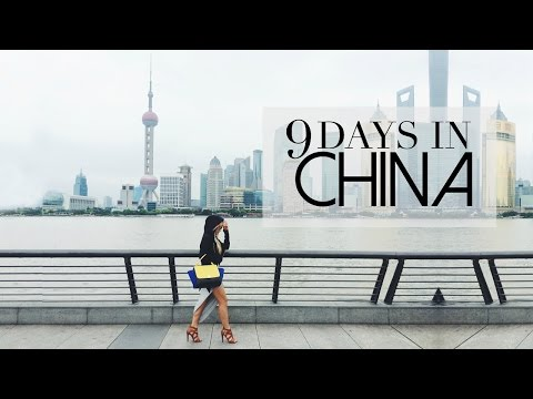 Travel Vlog: 9 Days in China: Shanghai, Beijing, Xi'an, Zhan