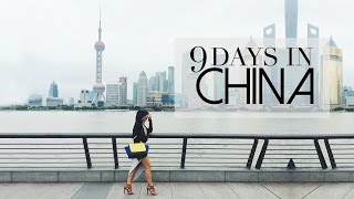 9 Days in China: Shanghai, Beijing, Xi