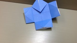 How to make an origami samurai servant, or yakko-san. ---------- Or...