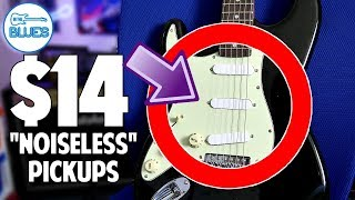"""$14 """"Noiseless"""" Stratocaster Pickups - Are they Good?"""