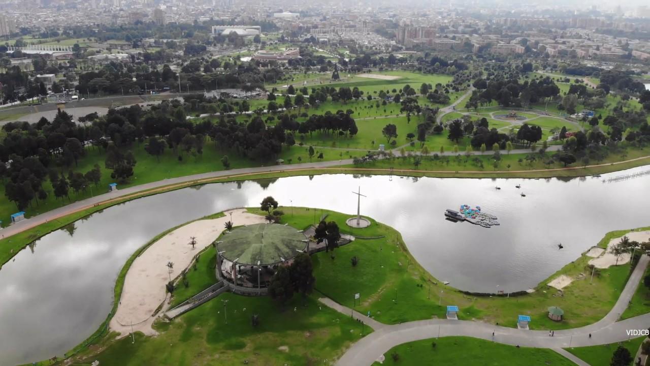 Magic Salitre Park Bogota 360 Panorama Drone Youtube