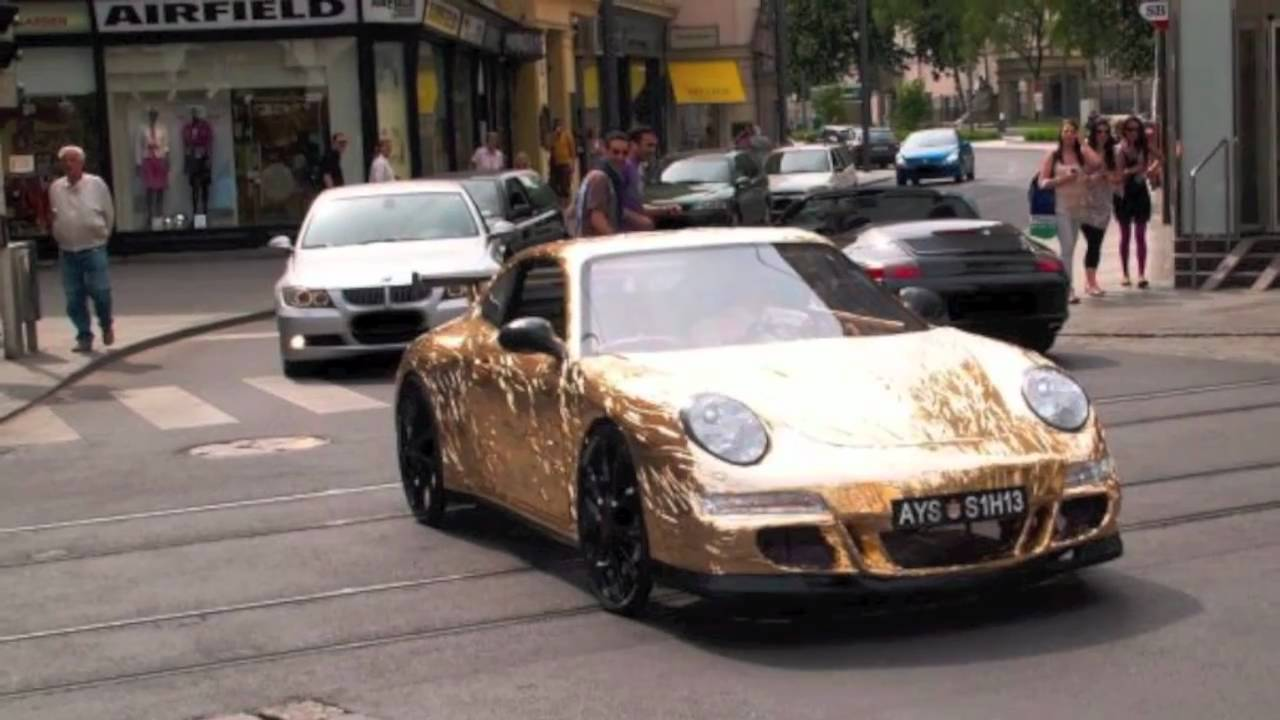 Porsche de papel youtube - Porche para autos ...