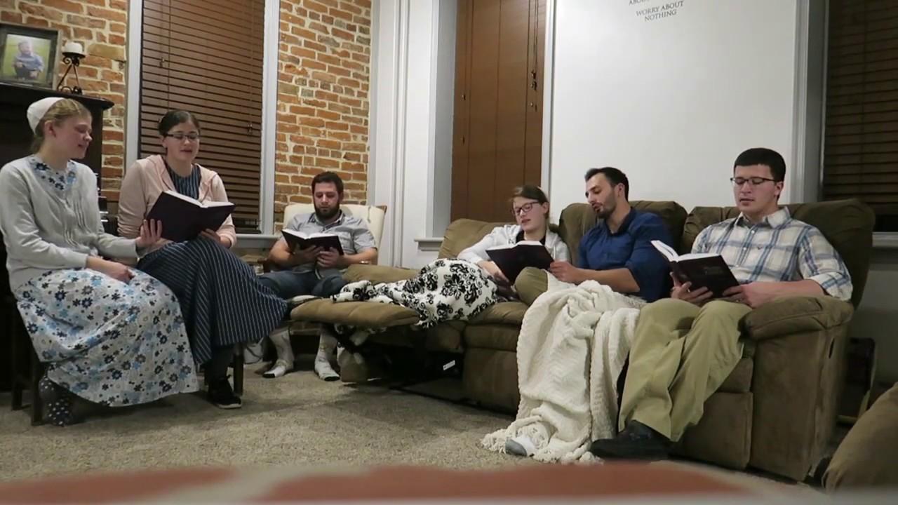 Deeper Deeper In The Love of Jesus Acapella Hymn Higher Higher Mennonite  Singing Gospel Harmony