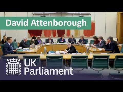 BEIS Committee Questions Sir David Attenborough