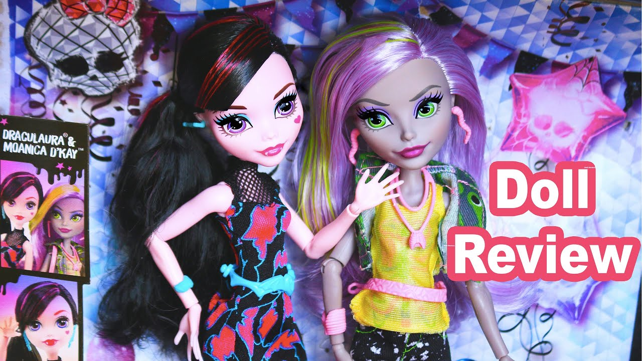 Monster High 2017 Moanica D Kay Draculaura Doll Review Welcome To