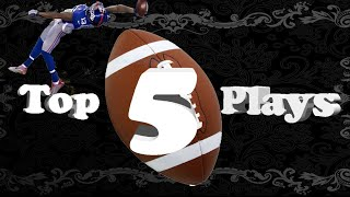 INSANE PLAYS!! MADDEN 16 TOP 5 PLAYS #4