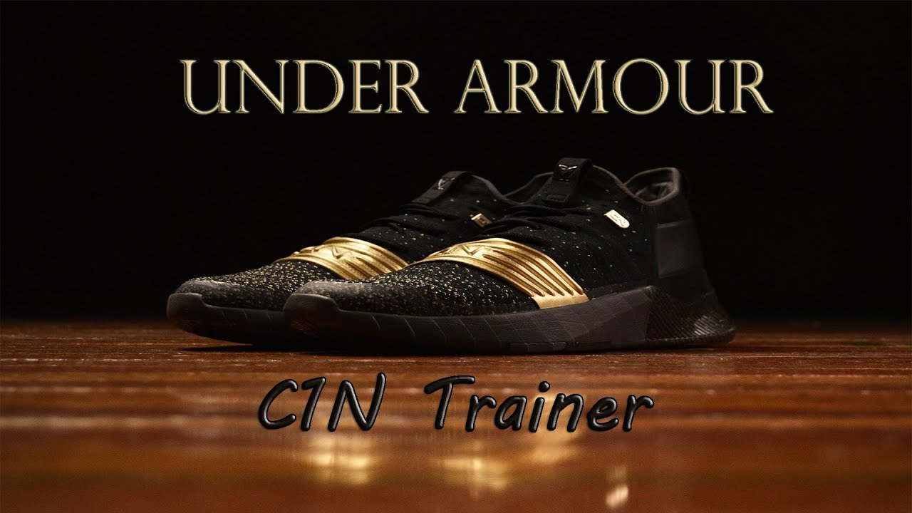 9eccbe4f3aaa UNDER ARMOUR C1N Trainer  119.99 Men s Training Shoes - YouTube