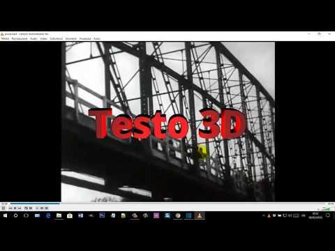 Come aggiungere testo in 3D in più parti di un video