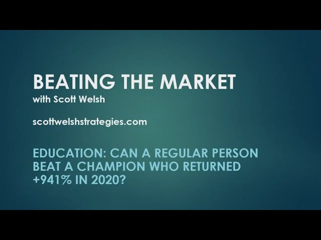 Education: Can a Regular Person Beat a Champion Who Made +941% in a Year?