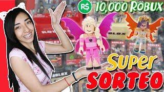 SORTEO 10,000 ROBUX + ROBLOX TOYS! Suliin18YT