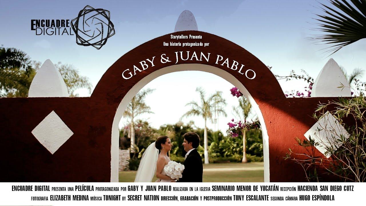 HACIENDA SAN DIEGO CUTZ || BODAS EN HACIENDA || GABY & JUAN PABLO ...