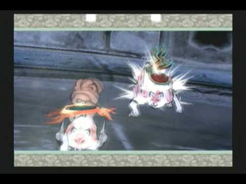 Okami (PS2) Boss #12 - Nechku