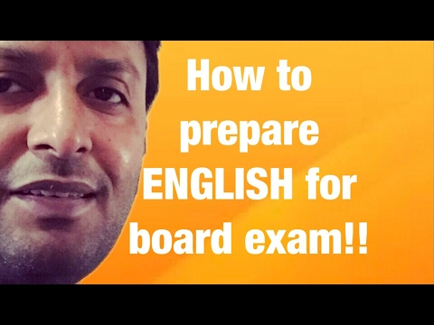 How to prepare for English exams , 12th || Exams - 2018 || XII CBSE core