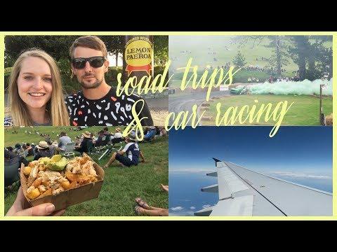 Road trips & car racing   Travel vlog