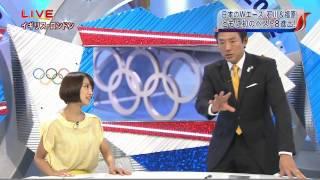卓球 石川佳純のぴょんぴょんジャンプ 松岡修造 table tennis kasumi is...