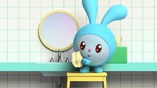 Малышарики - Обучающий мультик для малышей - Все серии про водные процедуры